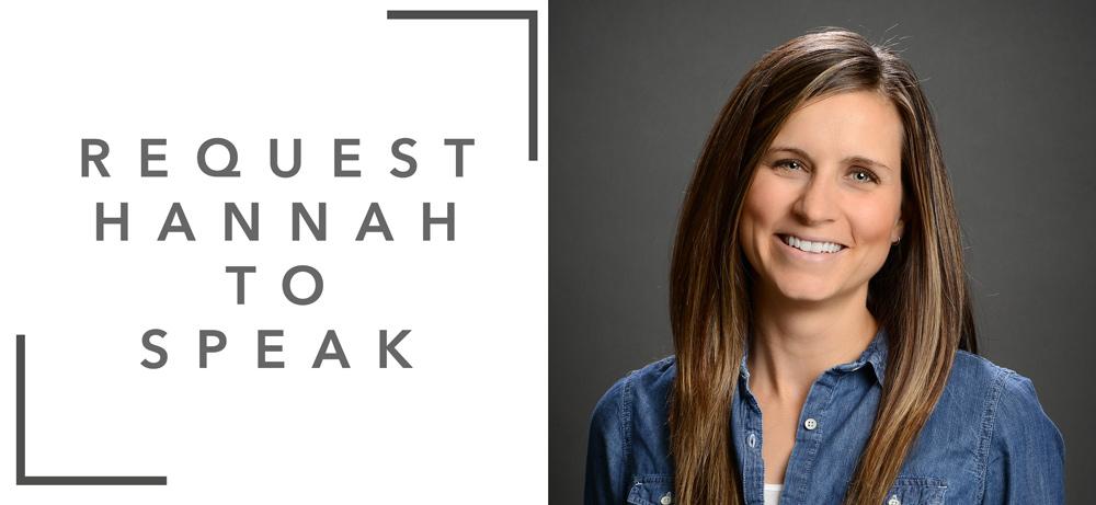 Request Hannah C. Hall to Speak